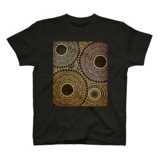 曼荼羅だらけ T-shirts