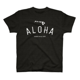 ALOHA ISLANDS  WHT LOGO T-shirts