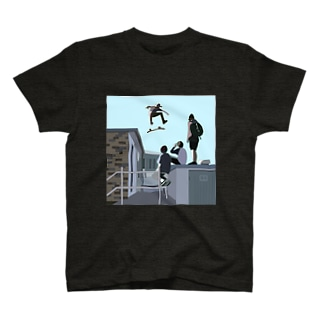 skateboarding T-shirts