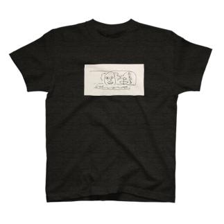 排水ピエロ T-shirts
