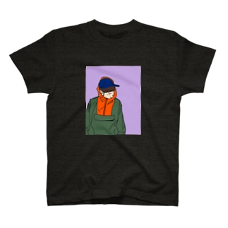 akymknt(パープル) T-shirts