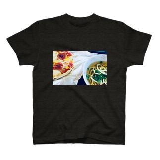 ピザそばセットTシャツ T-shirts