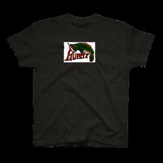 NM商会NAGオリジナルTシャツのHungry fish T-shirts