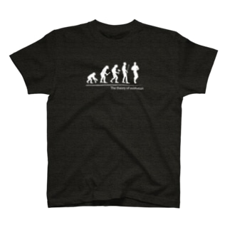 The theory of evolution(ボディビル) T-shirts