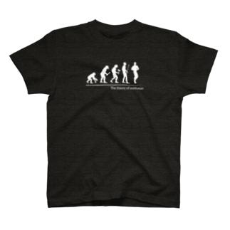 MSD2006のThe theory of evolution(ボディビル) T-shirts