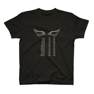 wlmのPOINTS WING T-shirts
