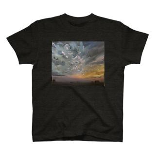 夕空グラデーション T-shirts