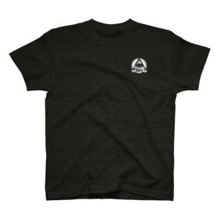 ロゴ白塗りver T-shirts