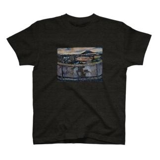 鹿児島油絵(帰路Ⅱ)グッズ T-shirts