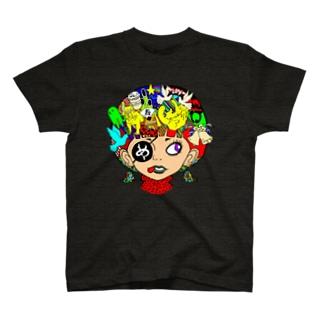 ペロンチョガール T-shirts