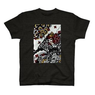 目は心の窓 T-shirts