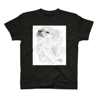 peace's gallery 01 背景あり T-shirts