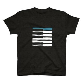 ピアノタイル T-shirts