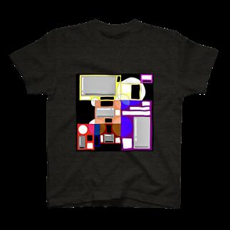ャ'sサイケのカベ T-shirts