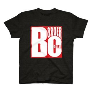 ボーダーコリーロゴ T-shirts