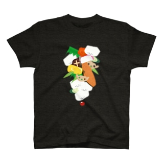 フォーリング幕の内弁当 T-shirts