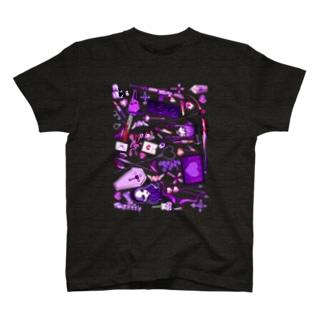 死因ちゃん T-shirts