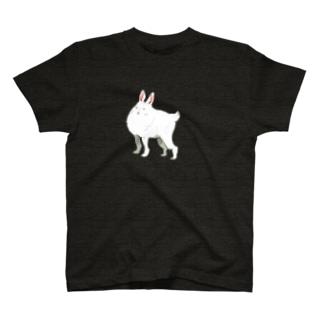 私の足長うさぎさん T-shirts
