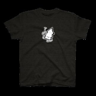 字書きの江島史織ですのイカ T-shirts