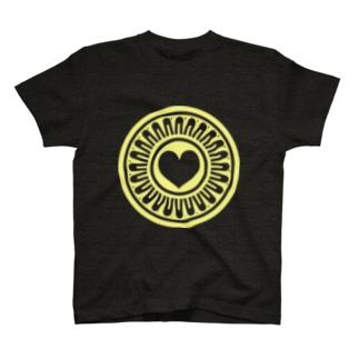 ハートピンズ T-shirts
