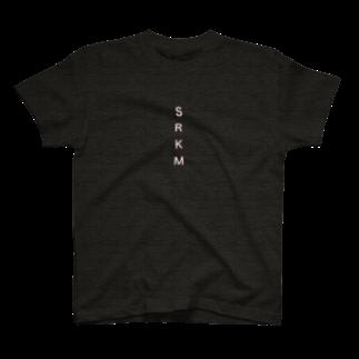 SRKMのSRKM(pink logo ver.) T-shirts