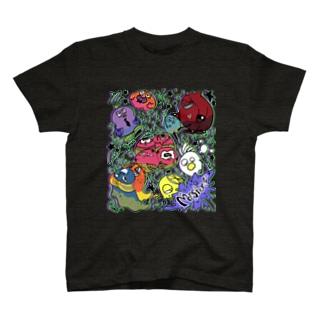 たったらモンスター T-shirts
