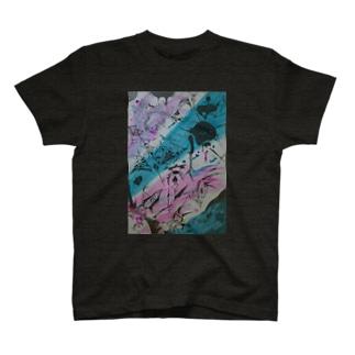 『スプラッシュブラック』 T-shirts