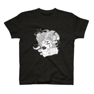 nightmare モノクロver. T-shirts