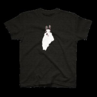 ヒラノマキコの2017.05月うさぎ T-shirts