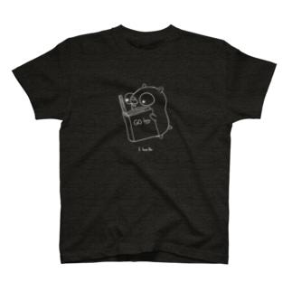 読書(白線) T-shirts