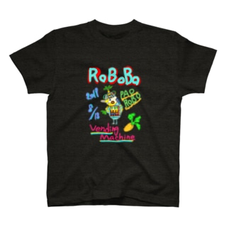 ROBOBO🤖「パオロボ」 T-shirts