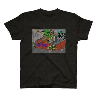 ∅({})の5pointz T-shirts