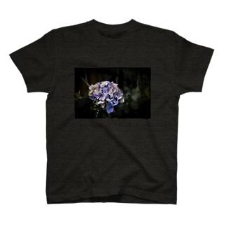【花途夢】紫陽花(紫) T-shirts