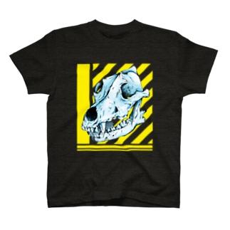 Wolf head 1 狼 T-shirts