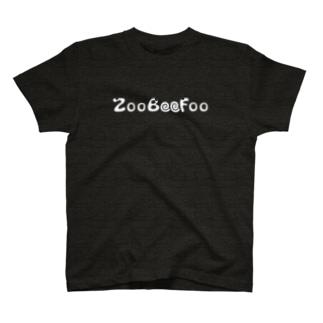 ZooBeeFoo白ロゴ T-shirts