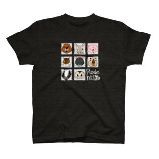 ネズミ年2020(暗) T-shirts
