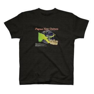 Papua New Guinea  BLACK T-shirts