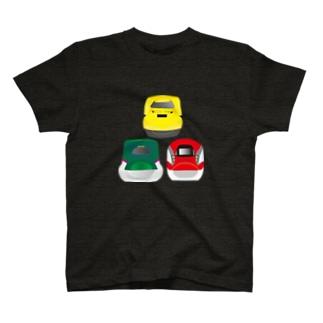はやぶさ&こまち&ドクターイエロー T-shirts