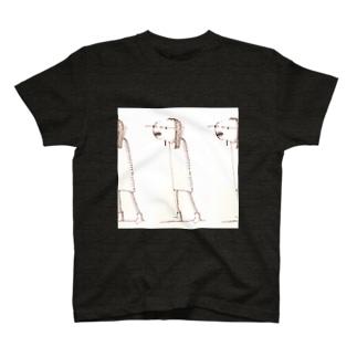 たかすぎるな。のお散歩するムミィさん T-shirts