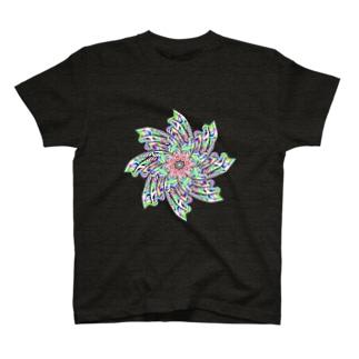 カラフルズ サイケデリック45 T-shirts
