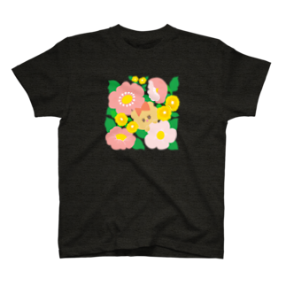ボビコのハナとクマ T-shirts