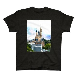Disney castle T-shirts