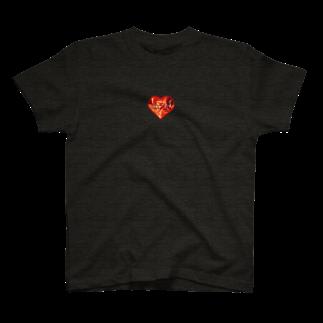 I&I Designのハートシリーズ max heart T-shirts