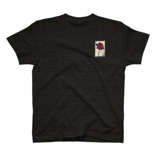 中川先生とナカナカSHOPのT-shirt-Rose-b T-shirts