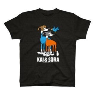 Houndy's supply 【ハウンディーズ】のKAIくん&SORAくん専用 T-Shirt
