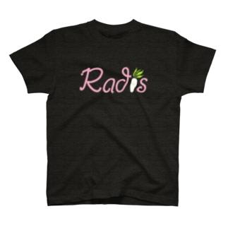 Radis ロゴ Pink T-shirts