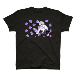 @ y _ 透過星 T-shirts