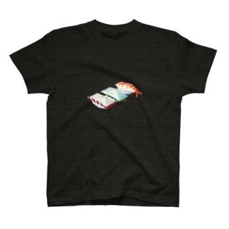 カクカク寿司/タコ/イカ/エビ T-shirts
