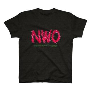 NWO-ニャンコワンコオオサワギ- T-shirts