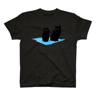Magic Carpet Ride(cyan) T-shirts